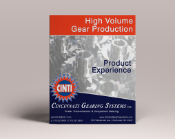 High Volume Gear Production